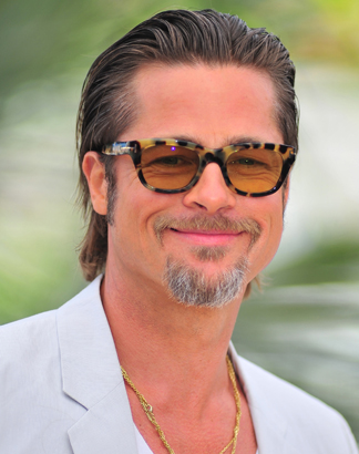 Brad Pitt Looking Smug