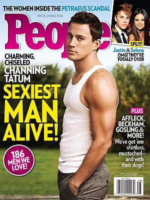 Channing Tatum's People Magazine cover