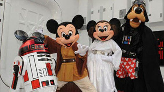 disney star wars mickey mouse
