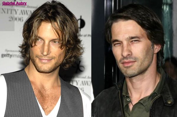 Gabriel Aubry and Olivier Martinez