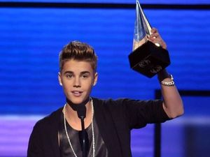Justin Bieber wins at the A