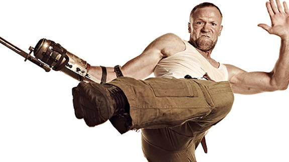 Merle Dixon, from the AMC series, The Walking Dead.