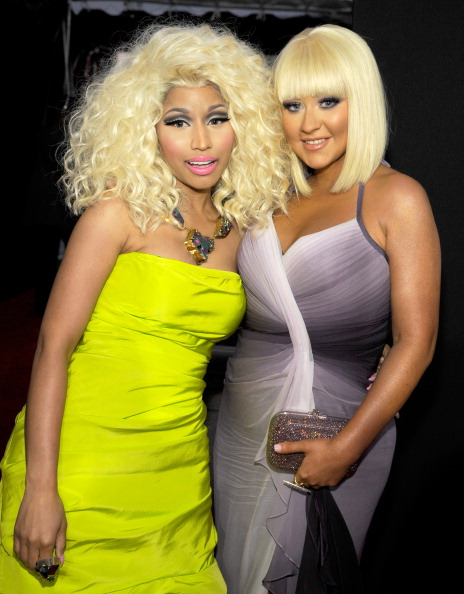 Nicky Minaj and Christina Aguilera