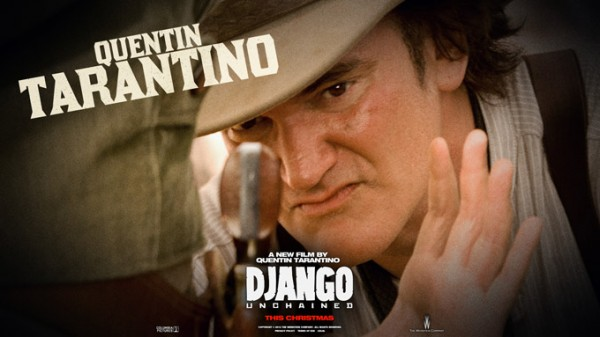 Quentin Tarantino, director of Django Unchained.