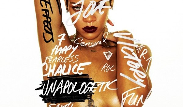 rihanna's unapologetic album cover