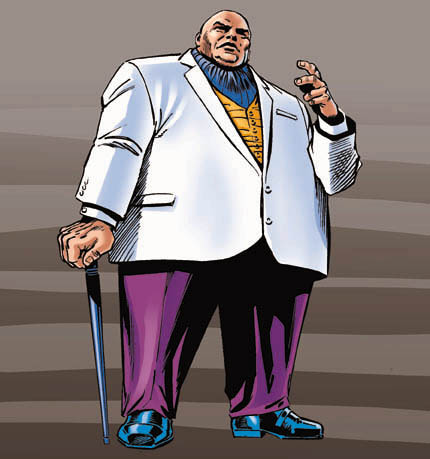 Kingpin, from the Spider-Man comics.