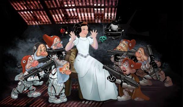 star wars disney dwarfs