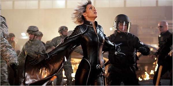 Halle Berry as Storm, in X-Men: The Last Stand.
