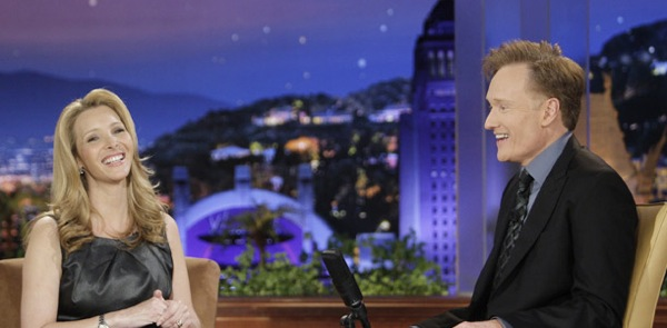 Conan O'Brien dated Lisa Kudrow