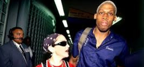 Madonna and Dennis Rodman dated