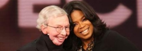 Oprah Winfrey and Roger Ebert