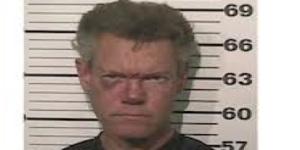 Randy Travis' Mug Shot