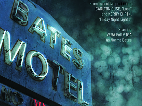 Poster for the A&E series, Bates Motel.