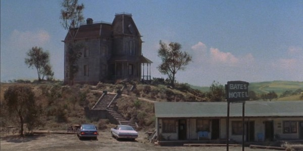 The Bates Motel from the film, Psycho.