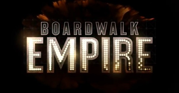 The title card for the HBO show, Boardwalk Empire.