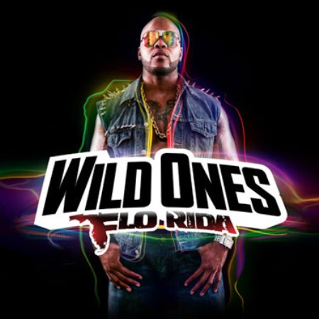 "The album cover for Flo Rida's ""Wild Ones."""