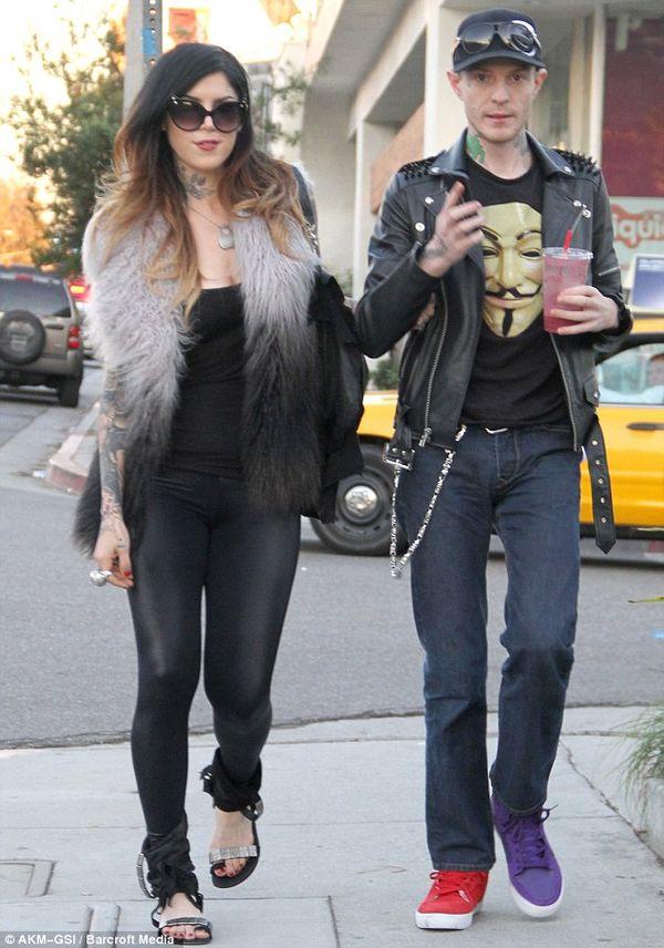 Kat Von D and Deadmau5