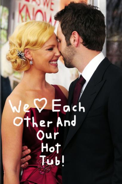 Katherine Heigl and her husband, Josh Kelley