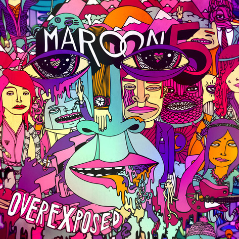 "The album cover for Maroon 5' s ""Overexposed."""