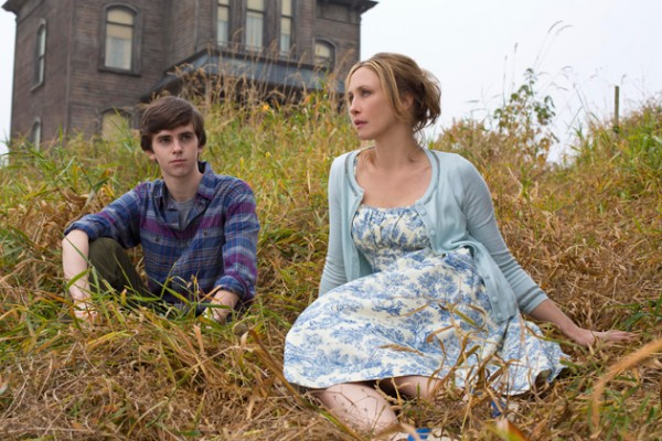 Norman and Norma Bates from the A&E series, Bates Motel.