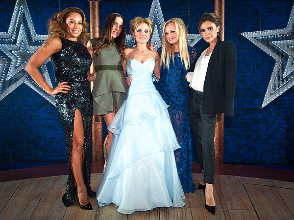 Spice Girls at Viva Forever Premiere