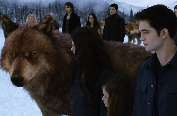 Wolf in Twilight Breaking Dawn: Part 2.