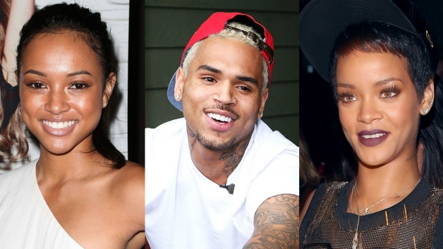 Karrueche Chris Brown Rihanna
