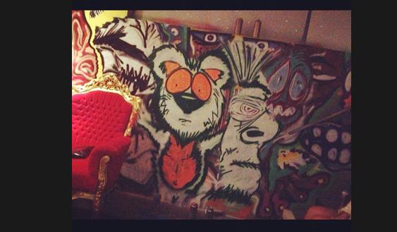 chris brown artwork instagram