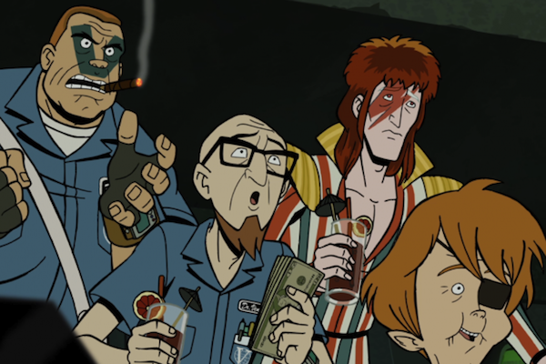 Venture Bros. Smoking