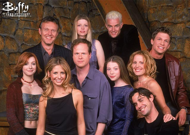 The cast of Buffy: The Vampire Slayer