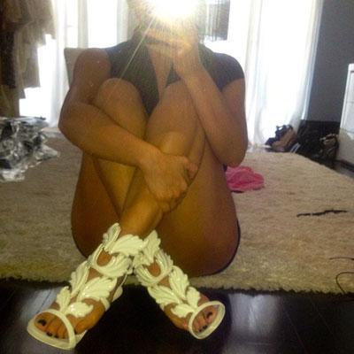 kim kardashian Giuseppe Zanotti heels