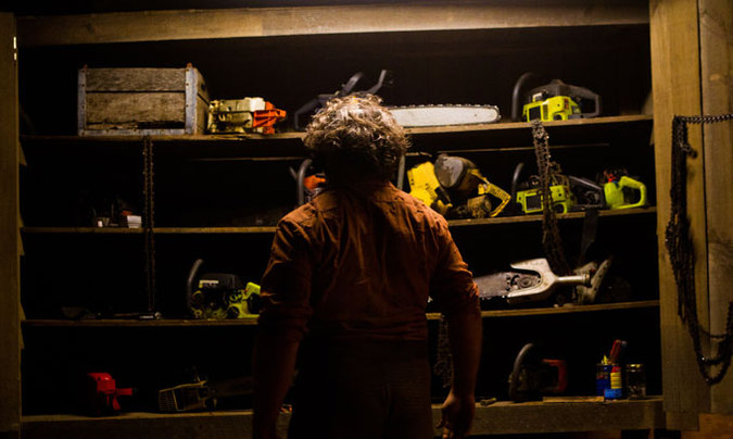 Leatherface's closet in Texas Chainsaw 3D.