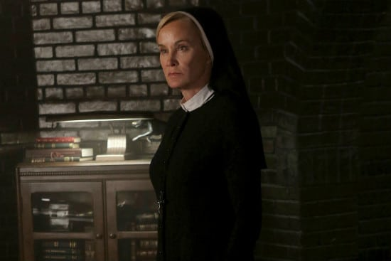 Jessica Lange as Sister Jude, on American Horror Story.