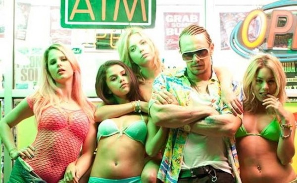 The cast of Spring Breakers.