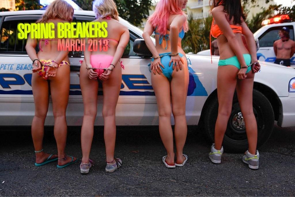 Spring Breakers poster.