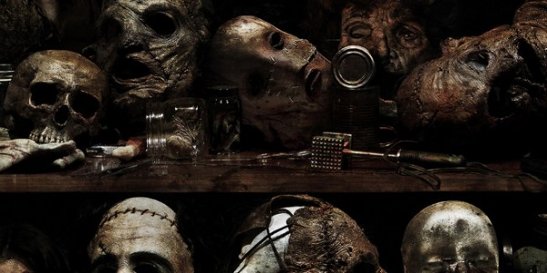 Masks from the Texas Chainsaw 3D poster.