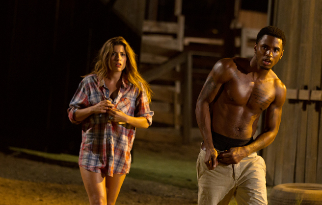 Trey Songz in Texas Chainsaw 3D.