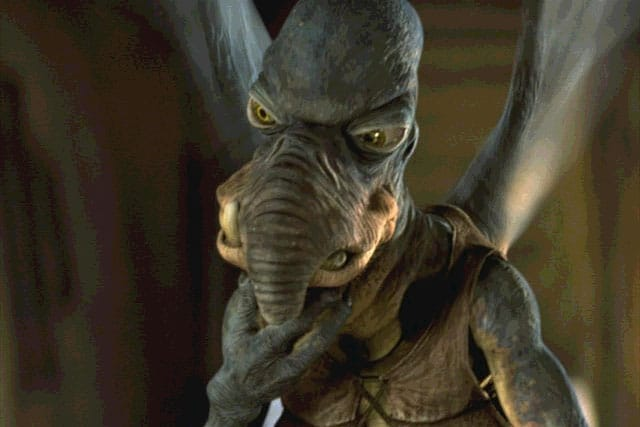 Watto, from Star Wars Episode I: The Phantom Menace.