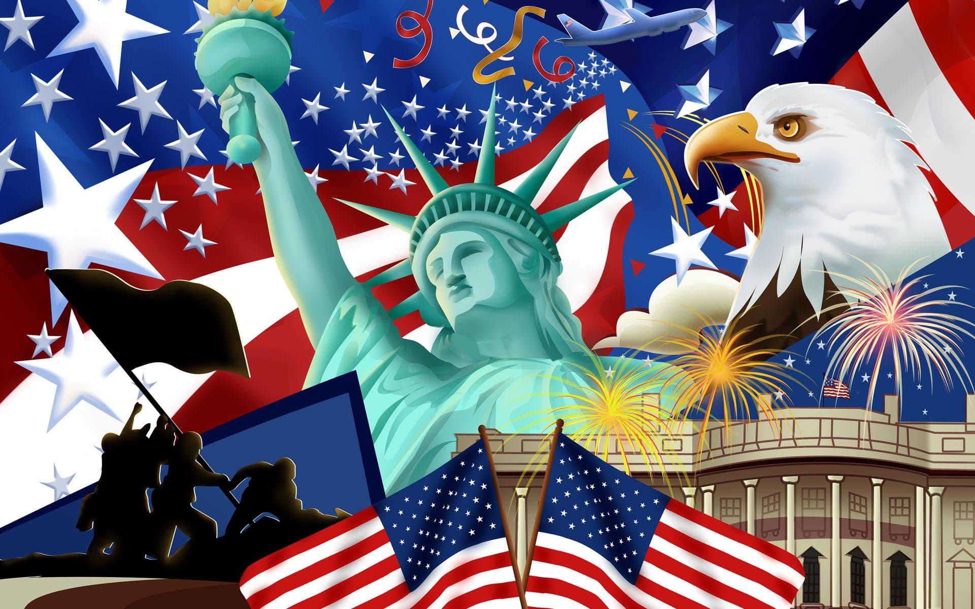 American symbols.