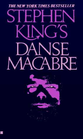"The cover of Stephen King's ""Danse Macabre."""