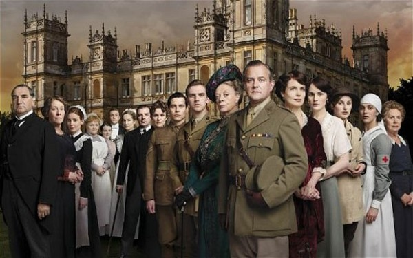 Characters on Downton Abbey. 
