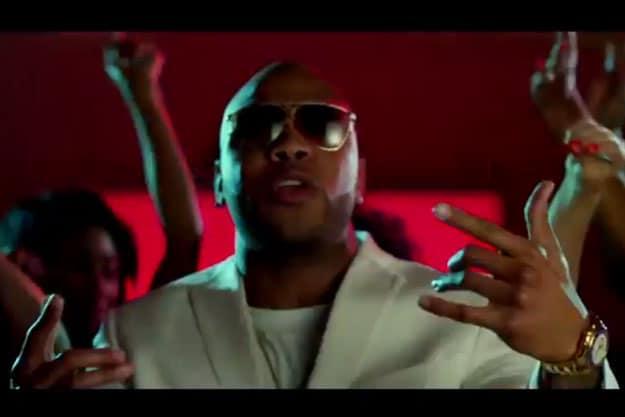 Rapper Flo Rida.
