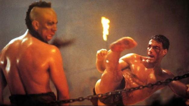 Jean-Claude Van Damme in Kickboxer.