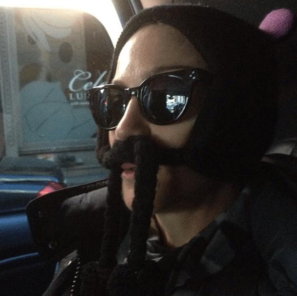 madonna-moustache