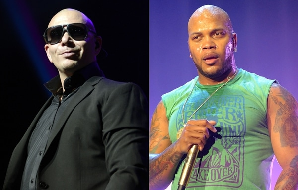 Pitbull and Flo Rida