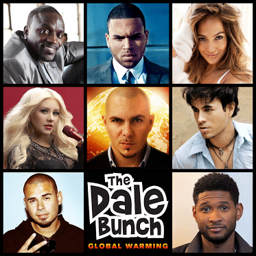 "Pitbull's collaborators ""The Dale Bunch."""