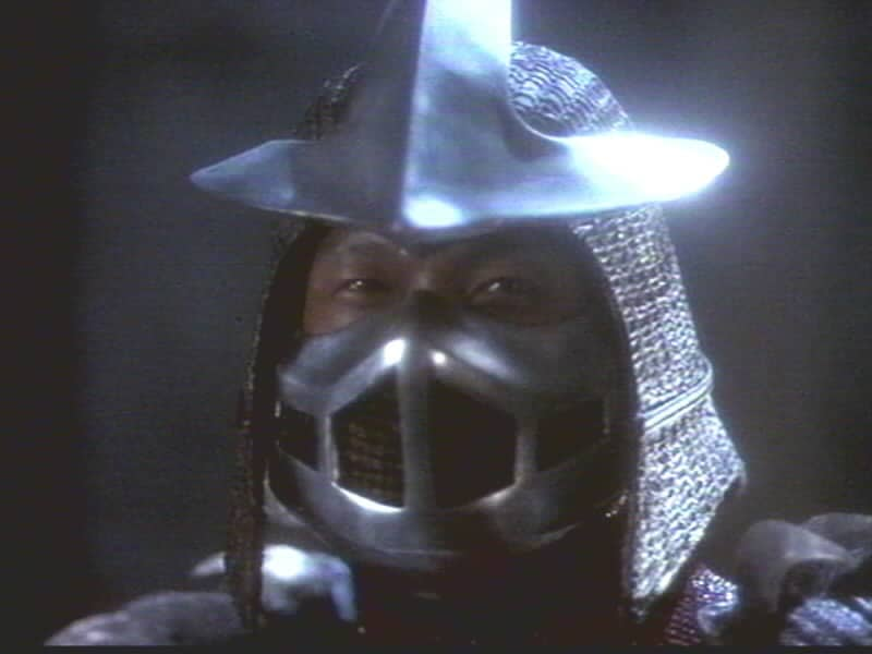 Shredder from the Teenage Mutant Ninja Turtles.