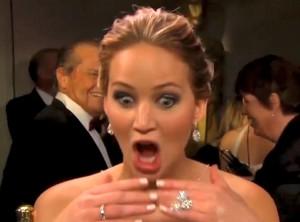 Jennifer lawrence mouth open