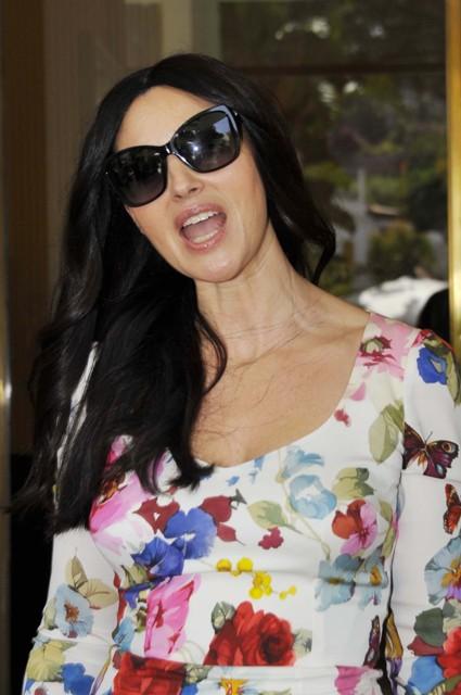 Monica Bellucci No Makeup
