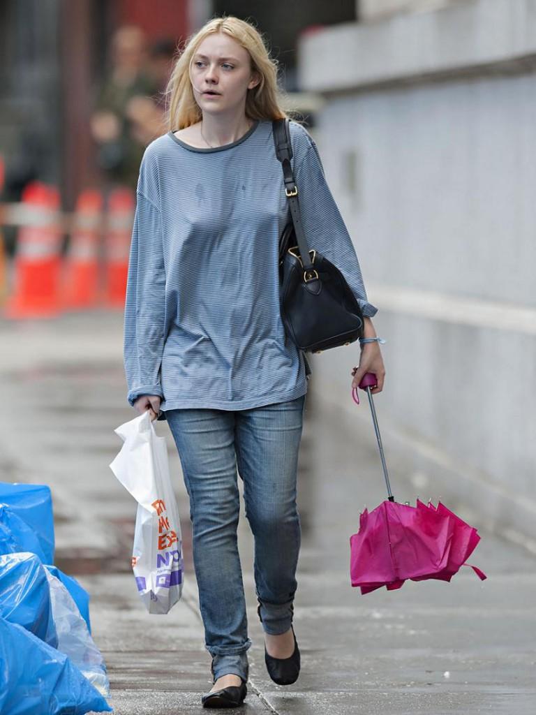 Dakota Fanning Without Makeup